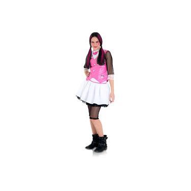 Imagem de Fantasia Monster High Draculaura - Rosa - Tam GG - Sulamericana