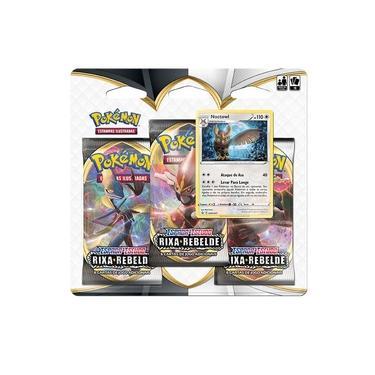 Deck com 19 Cartas Pokémon - Blister Triplo - Espada e Escudo - Copag