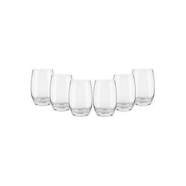Jogo de Copos para Água Cristal Classic 320ml 6 Peças - Oxford Crystal fe266f65198a3