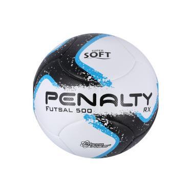 Bola de Futsal Penalty RX 500 R1 Ultra Fusion VIII - BRANCO PRETO Penalty be36109b8aeb4