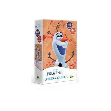 Imagem de Quebra-Cabeça Puzzle 60 Peças - Frozen II - Olaf - Toyster