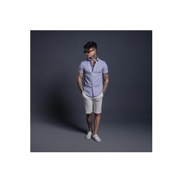 Camisa Linho Verano Azul BEBÊ