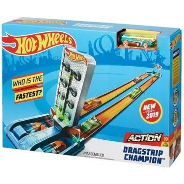 Imagem de Hot Wheels Pista De Campeonato De Corridas - Mattel