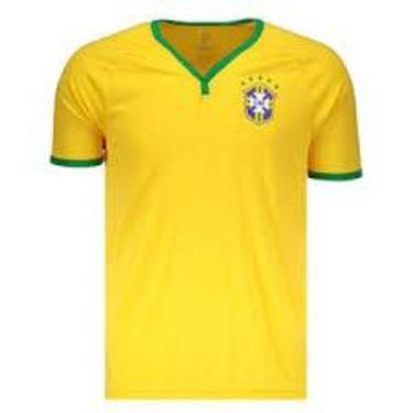 Imagem de Camisa Brasil CBF Basic Amarela