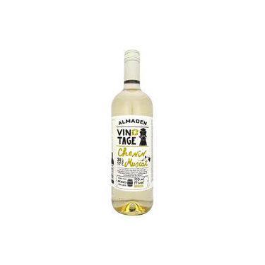 Vinho Branco Brasileiro Almadén Chenin Muscat Vintage Garrafa 750 Ml