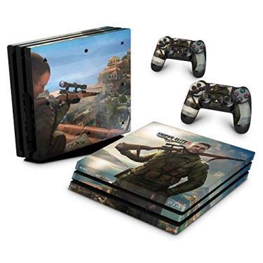Skin Adesivo para PS4 Pro - Sniper Elite 4