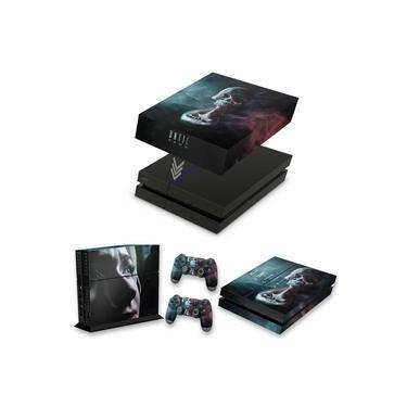 Capa Anti Poeira e Skin para PS4 Fat - Until Dawn