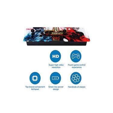 800 Jogos Início Multiplayer Joystick Arcade Duplo Game Console Para monitor de TV