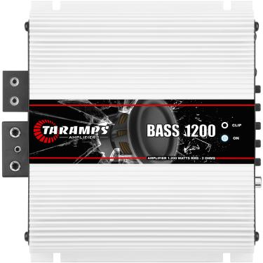 Módulo Taramps Bass 1200 1200w Amplificador Automotivo Módulo Taramps Bass 1200 2 ohms 1200w Amplificador Automotivo