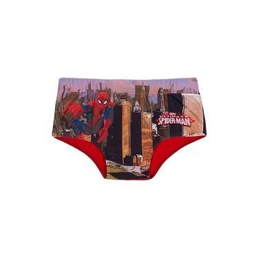 Sunga Infantil Vermelha Spider Man - Tip Top