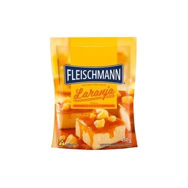 Mistura Para Bolo Cremoso Sabor Laranja Fleischmann 450g
