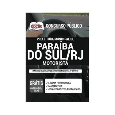 Imagem de Apostila Prefeitura Paraíba Do Sul Rj - Motorista