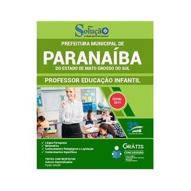 Imagem de Apostila Paranaíba Ms 2019 - Professor De Educação Infantil