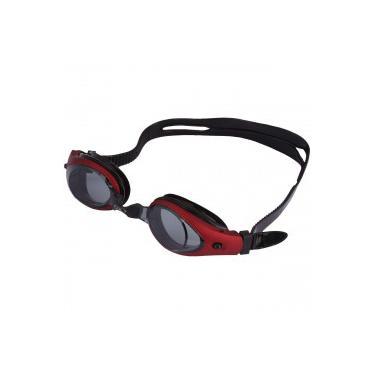 48df44a7e3a07 Óculos de Natação Oxer Zeus - Adulto - Vermelho Preto Oxer
