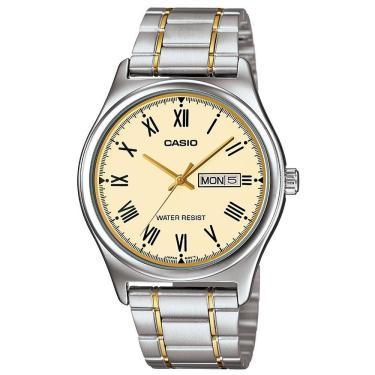 2f384447b73 Relógio Masculino Casio Analógico MTP-V006SG-9BUDF – Prata