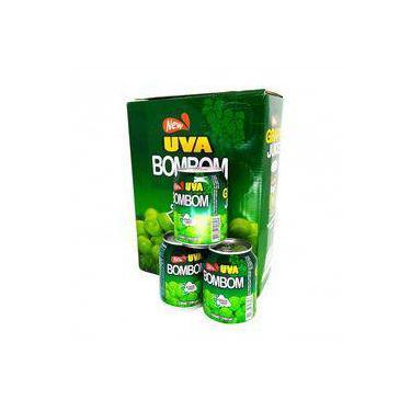 Suco De Uva Verde C/ Polpa Inteira Bombom - 12 Unidades