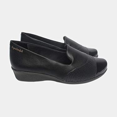 Sapato Malu Super Comfort Eloá Feminino Preto 35