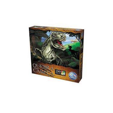 Imagem de Quebra-cabeça Dinossauro 150 Peças - Pais e Filhos