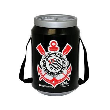 Cooler Térmico 24 Latas Pro Tork Time Corinthians Preto