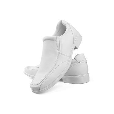 Sapato Social Conforto Neway Masculino Branco