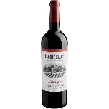 Vinho Tinto -  Baron Guillot Classique Esprit de Vigneron 2019  - Europeu Domaine du Père Guillot