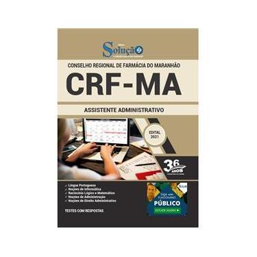 Imagem de Apostila Concurso Crf Ma - Assistente Administrativo
