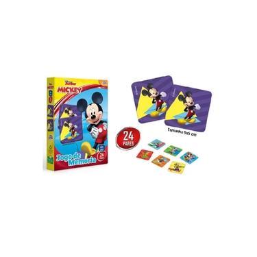 Imagem de Jogo De Memória Da Turma Do Mickey Da Disney - Toyster