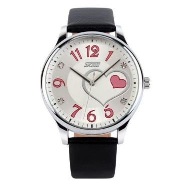 dda185a4b Relógio Skmei Analógico 9085 Preto feminino