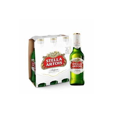 Pack 6 Cervejas STELLA ARTOIS Long Neck 330ml - Geladas