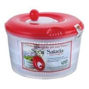 Seca Secador De Saladas 4,5L Verduras Centrífuga