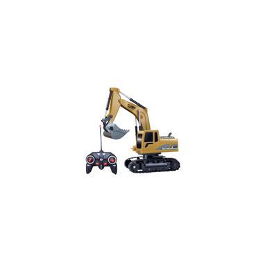 Imagem de Veículo de controle remoto para carro escavadeira rc com brinquedos leves de controle remoto