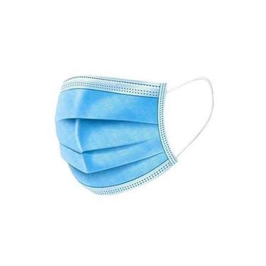 Máscara Facial /Descartável Azul Inova 50 Unidades