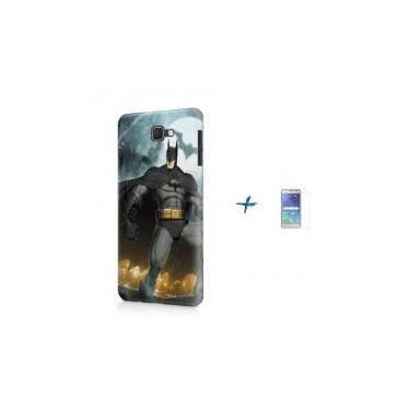 Kit Capa TPU Galaxy J7 Prime Batman + Pel Vidro (BD01) - Skin t18 799aed19e52bf