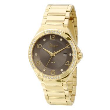 3d7521e2982 Relógio Feminino Condor CO2115SV 4B - Dourado