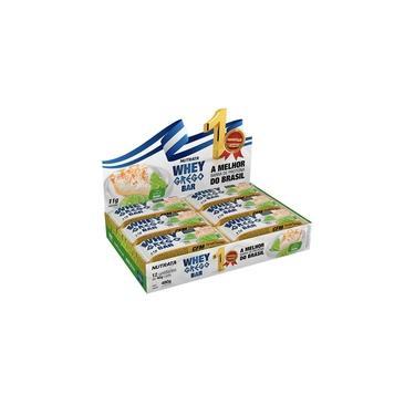 Barra de Proteína Sabor Torta de Limão Whey Grego Display com 12 un. de 40g - Nutrata