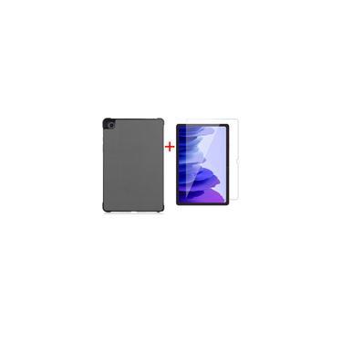 Imagem de Tablet Samsung Galaxy tab A7 2020 caso com protetor de tela de vidro temperado