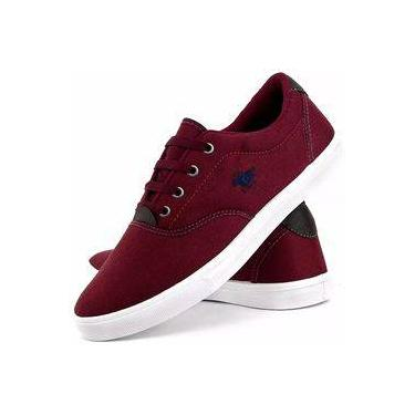 Sapatênis Polo Energy Casual Bordo Masculino 7bb1479f85d3c