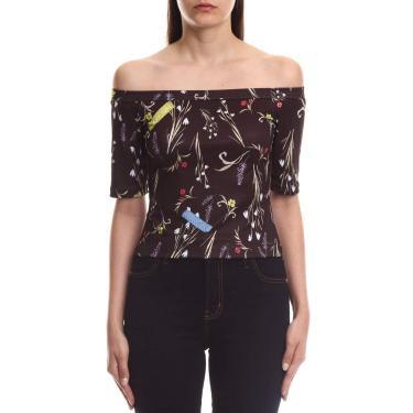 Camiseta Estampada, Coca-Cola Jeans, Feminino, Preto/Branco/Azul/Vermelho/Rosa/Roxo/Marrom/Amarelo, P