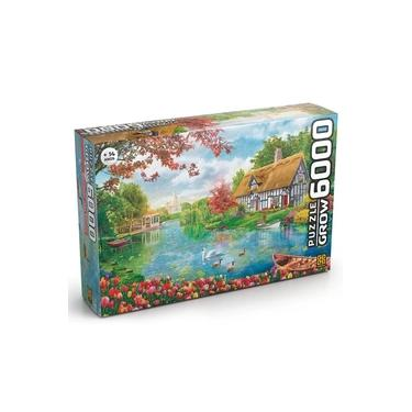 Imagem de Quebra-cabeça - 6000 Peças - Recanto Das Flores - Grow