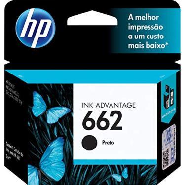 Cartucho HP - 662 Preto Original (CZ103AB)