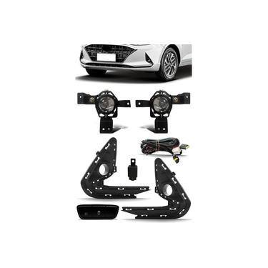 Kit Farol De Milha Neblina Hyundai Hb20 Hb20S 2020/2021