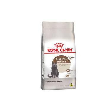 Ração Royal Canin Sterilised 12+ para gatos castrados a partir de 12 anos de idade - 400 gr