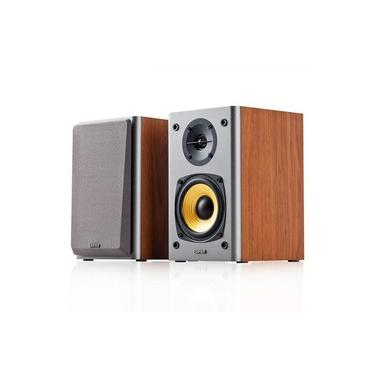 Monitor De Áudio Edifier R1000t4 24w Home Estúdio Madeira