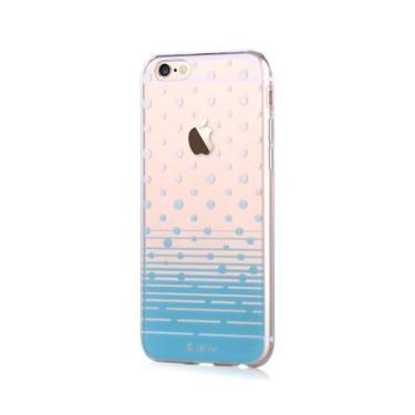 Capa p/ iPhone 6 Devia Vango Polka ELA0334-BLU Azul
