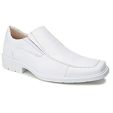 Imagem de Sapato Masculino Couro Branco Ref.: 114-2 (41)