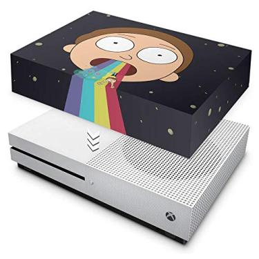 Capa Anti Poeira para Xbox One S Slim - Morty Rick And Morty