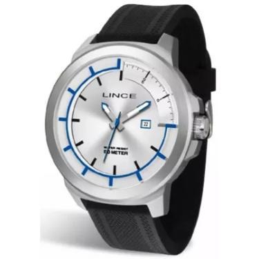 6caa912d751 Relógio Masculino Lince Mrph054s S1px Prata Preto