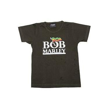 Camiseta Baby Look Bob Marley Stamp Rockwear Tam P 4cb6a8810ddf4