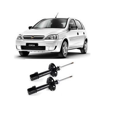 Imagem de Par de Amortecedores Dianteiro Chevrolet Corsa Hatch Joy 18 8V Flexpower 4P 2004 a 2008