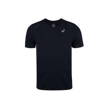 Camiseta Asics Poliamida Mesh - Masculina Asics Lic Masculino